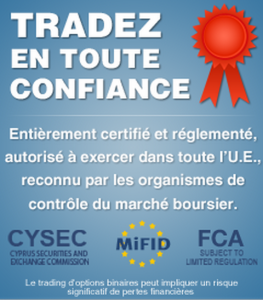 Securité et confiance optiontime